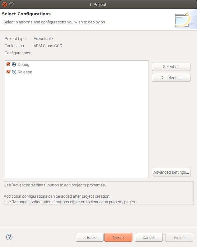 Eclipse debug release