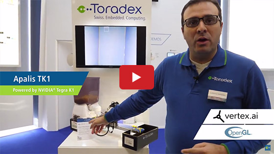 Toradex at Embedded World 2018: Vertex.ai - Service Partner