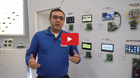 Toradex at Embedded World 2018: Partner Demo Wall
