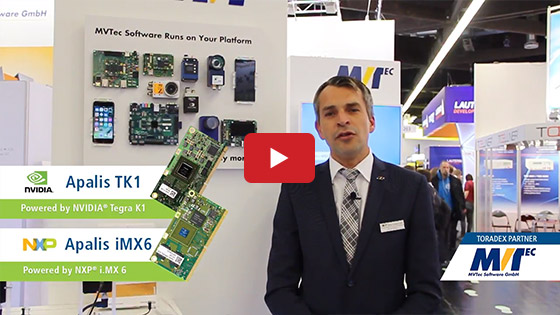 Toradex at Embedded World 2018: MVTec - Service Partner