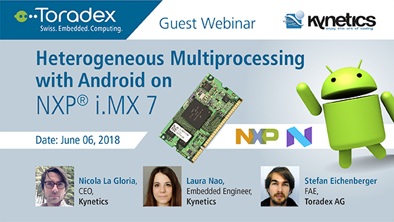 Heterogeneous Multiprocessing with Android on NXP i.MX 7