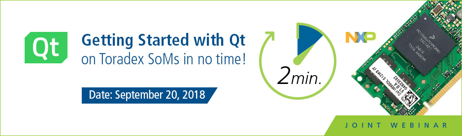 Getting Started with Qt on Toradex System on Modules in no time