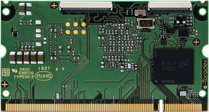 NXP i.MX 8X Computer on Module - Colibri iMX8X Back