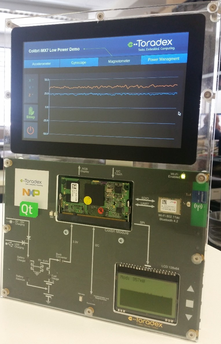 Colibri iMX7 Low Power Demo
