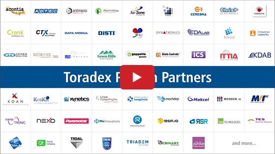 Toradex Global Partner Ecosystem Montage