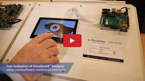 Embedded World 2019 - Toradex - Crank Software