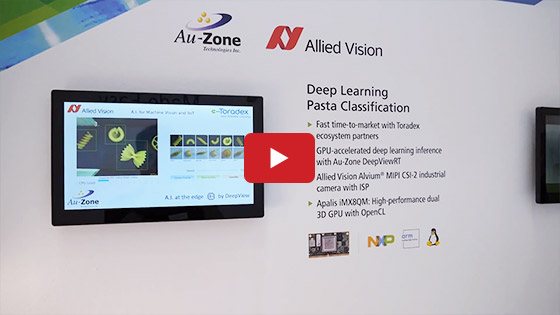 Embedded World 2019 - Toradex - Auzone and Allied Vision