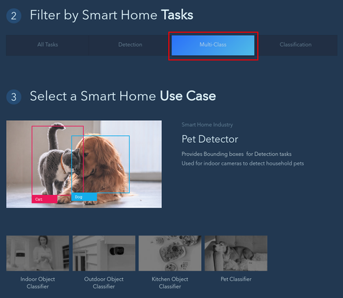 AI2GO Filter by task