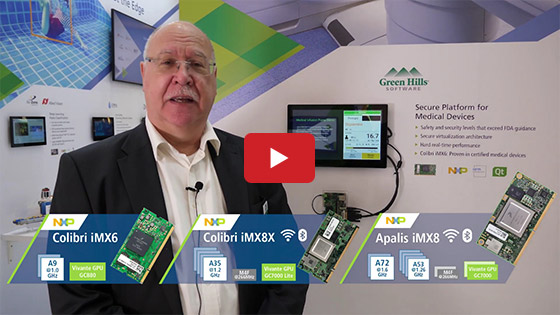 Embedded World 2019 - Toradex - Green Hills