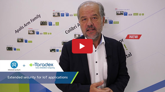 Embedded World 2019 - Toradex - Prove&Run