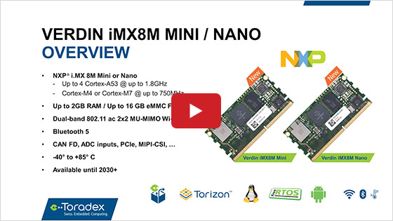 Simplify Modern Product Development with the Verdin iMX8M Mini and Nano SoMs