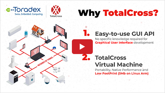 Creating GUI for Toradex modules with TotalCross Open Source SDK