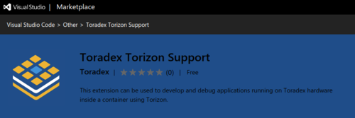 Toradex Torizon Support - Visual Studio Code Marketplace