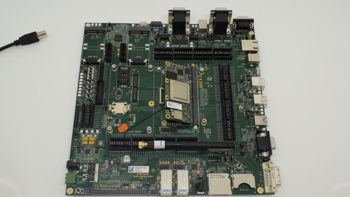 Connecting the computer on module to the Apalis Evaluation Board
