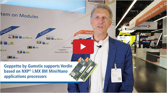 Gumstix - Toradex partnership highlights - Embedded World 2020