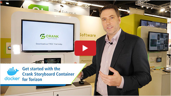 Crank - Toradex partnership highlights - Embedded World 2020