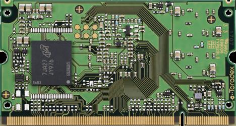 Colibri iMX7 - Back