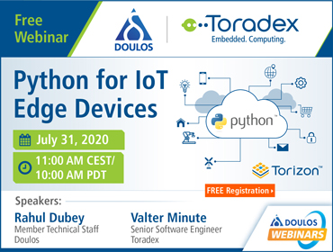 Python for IoT Edge Devices