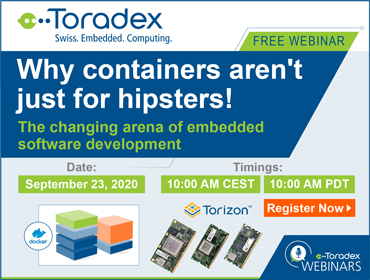Containers in embedded software development