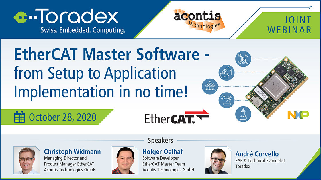 EtherCAT Master Software - from Setup to Application Implementation in no time!