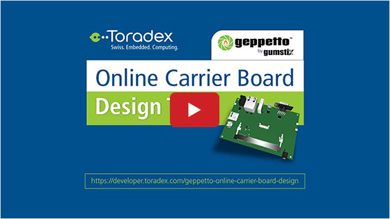 Geppetto online designer tool