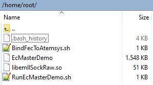 Acontis root directory