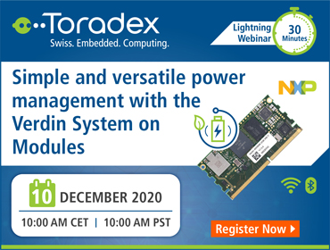 Simple and versatile power management with the Verdin System on Modules