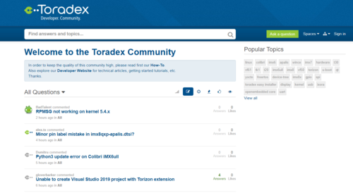 Toradex Community