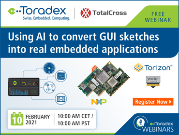Using AI to convert GUI sketches into real embedded applications