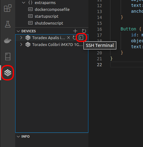 Connect via SSH Using the Visual Studio Code Extension for Torizon