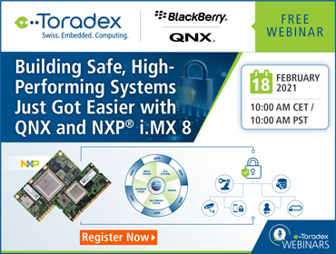 Building Safe, High-Performing Systems Just Got Easier with QNX and NXP i.MX 8