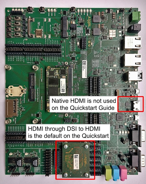 Native HDMI x DSI to HDMI Adapter