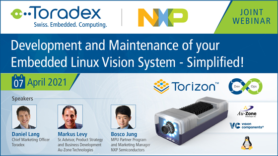 Development and Maintenance of your Embedded Linux Vision System - Simplified!
