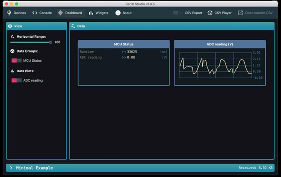 Serial Studio UI