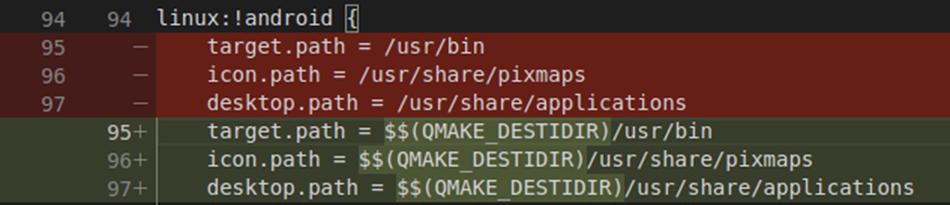 Install resources into QMAKE_DESTDIR