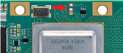 iMX8X Recovery mode Pads
