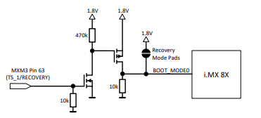 Apalis iMX8X pin for Recovery Mode