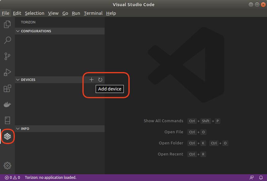 Visual Studio Code - Adding a Device