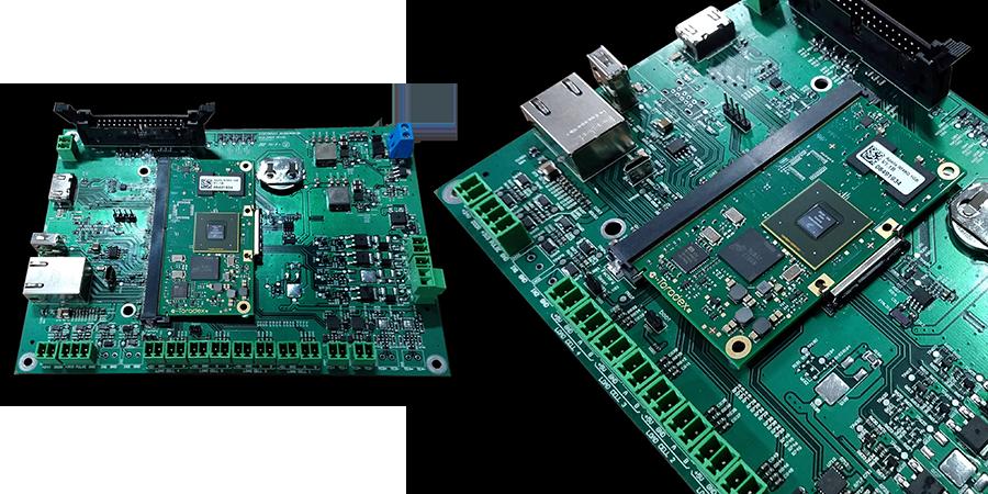 uDEV Carrier Board