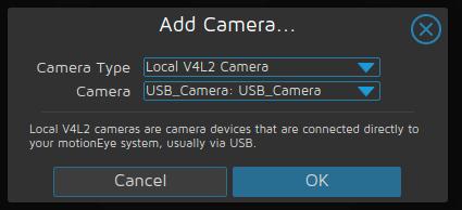Adding USB webcam