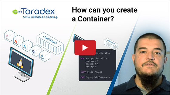 How can you create a Container?