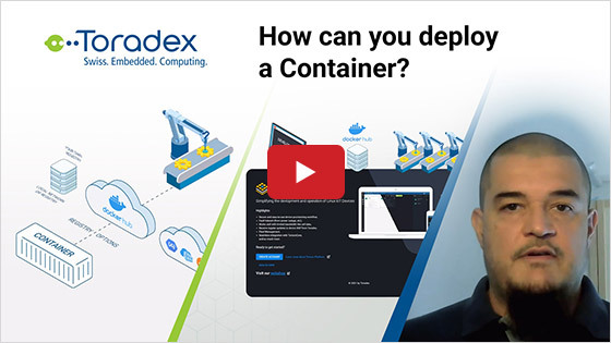 How can you deploy a Container?