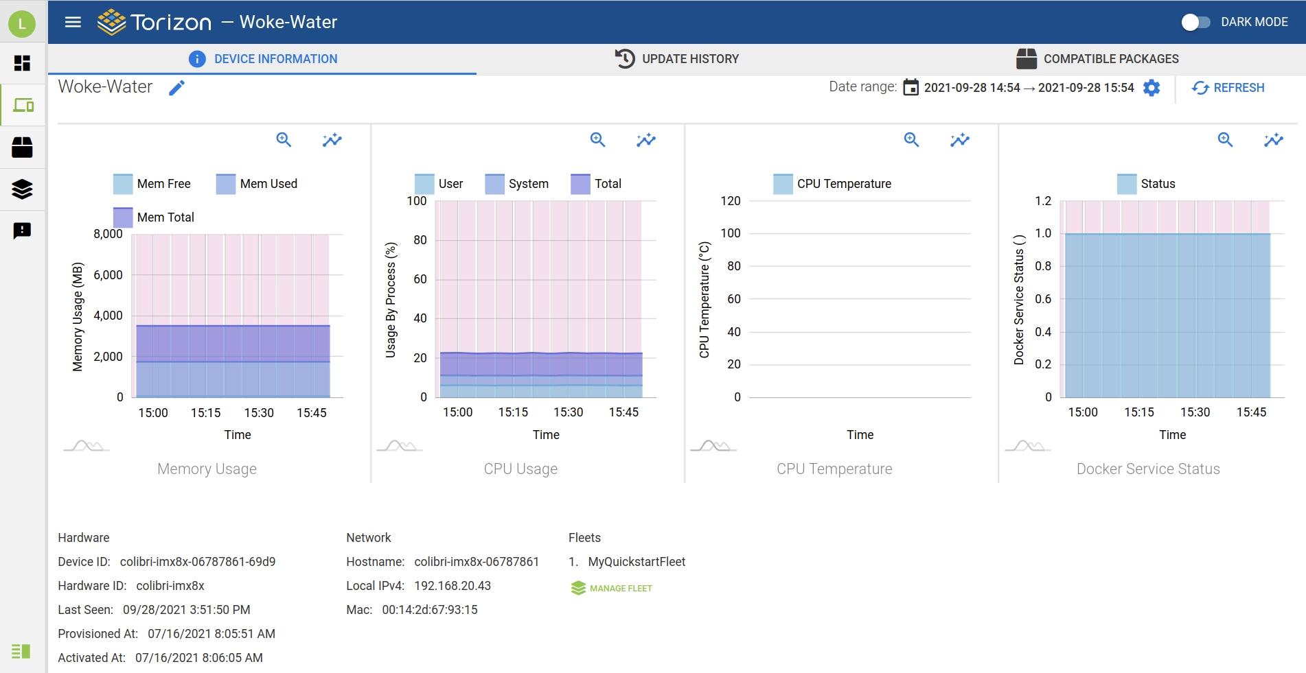 TorizonCore 5.4.0 Quarterly Release